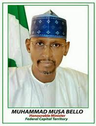 FCT minister Muhammad Bello