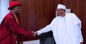 Niger Delta Chief with Buhari