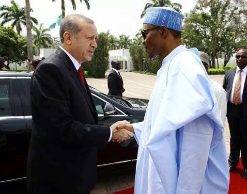 President Buhari and Erdogan