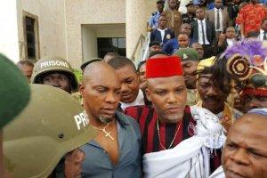 Biafra leader Nnamdi Kanu