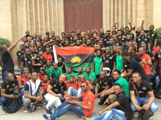 Biafra soldiers
