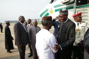 Osinbajo welcomes Buhari 1