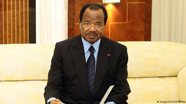 Camerron President, Paul Biya