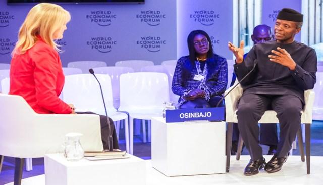 Prof. Yesmi Osinbajo attended World Wconomic Forum