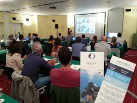 Healthy Seas and Ghost Fishing testifying their presence at the Green Bubbles Open Workshop!