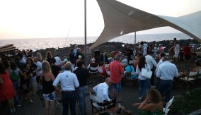 Last meet-up at sunset for awards by the Ustica Municipality and by the International Underwater Academy