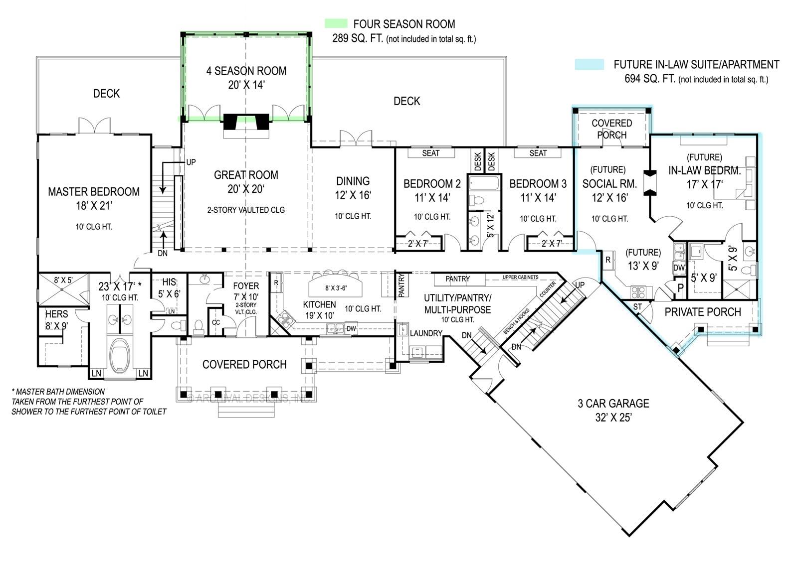 House Pepperwood House Plan