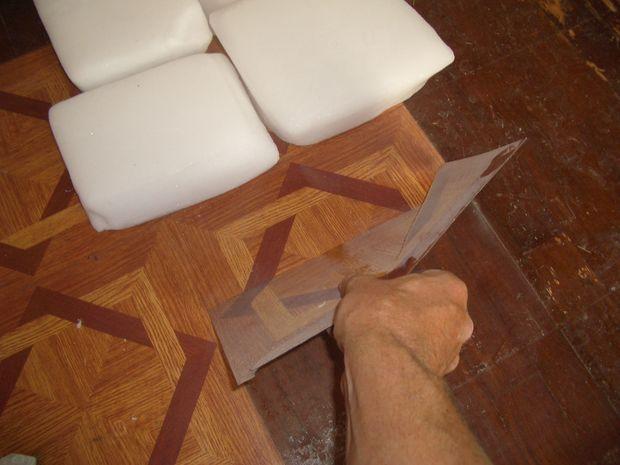 using dry ice to remove old vinyl floor