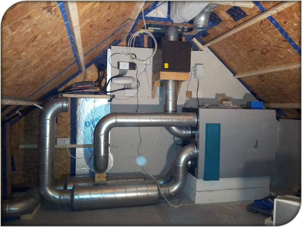 MVHR Heat Recovery Ventilation Units Green Building
