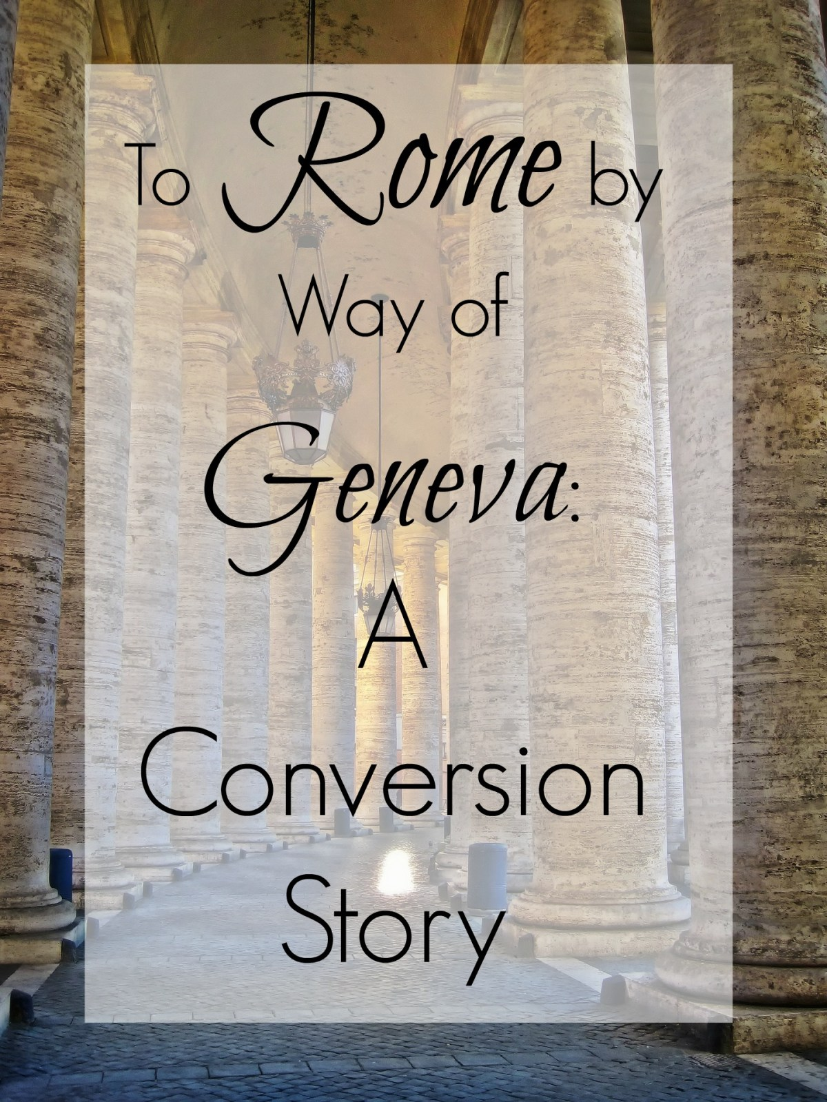 The story of my journey from my early faith, through the conservative Presbyterian/Reformed tradition, to finally come home to the Roman Catholic Church.