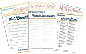 The Catholic Convert's Printable Pack