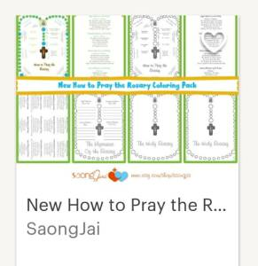 How to Pray the Rosary - with a Giveaway! | Green Catholic Burrow