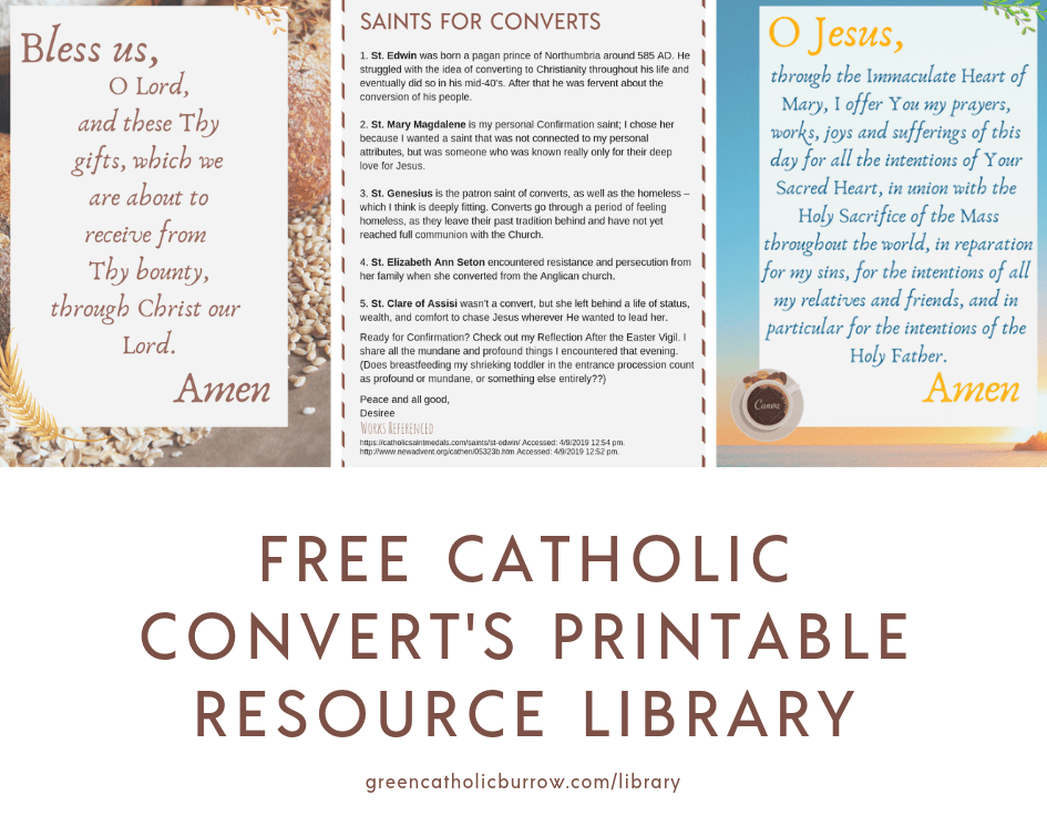 graphic regarding Printable Catholic Prayers titled Inexperienced Catholic Burrow Library Inexperienced Catholic Burrow