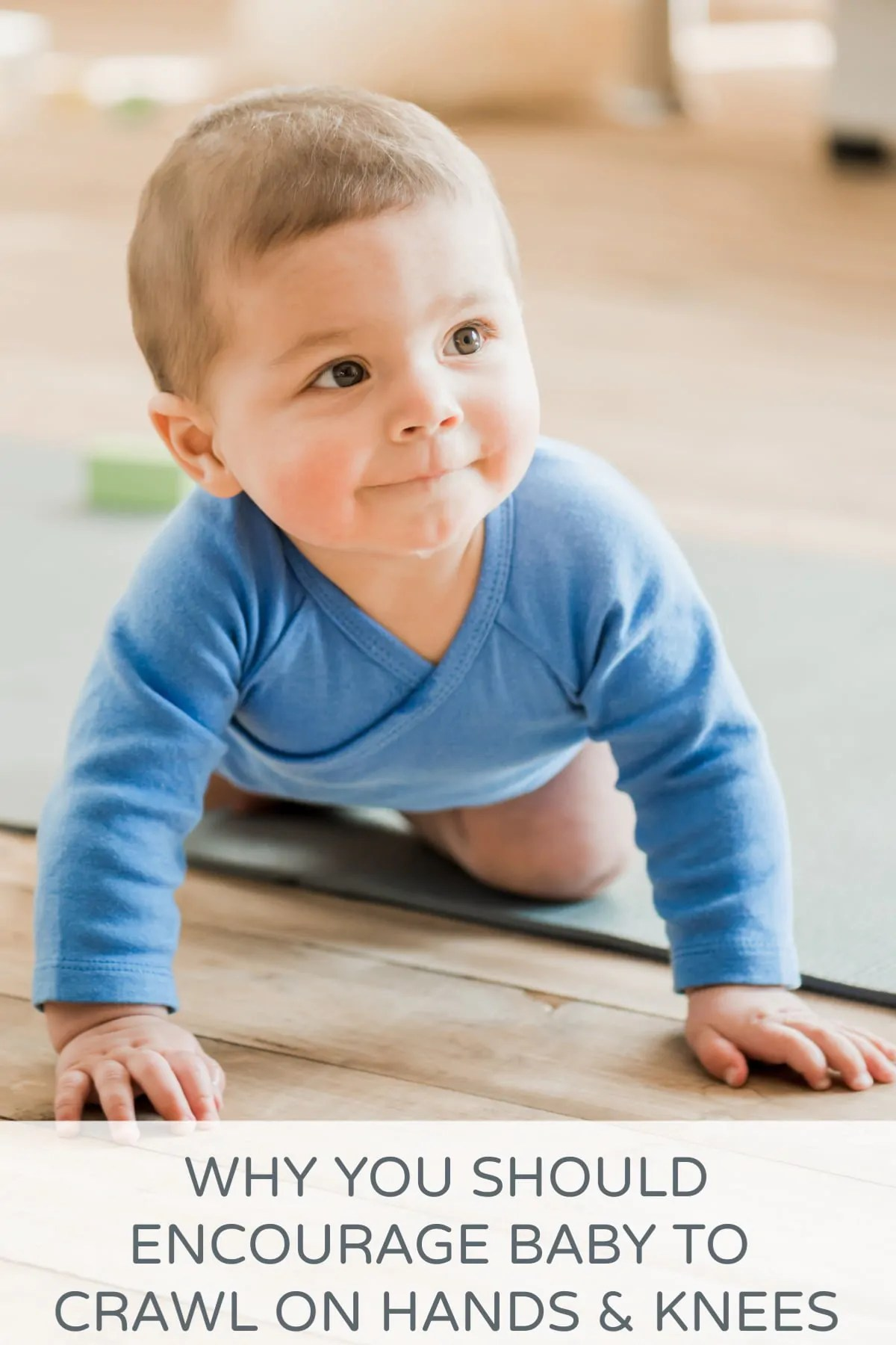why is baby crawling