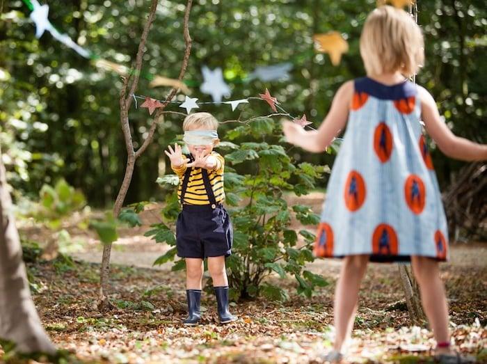 eco friendly outdoor birthday