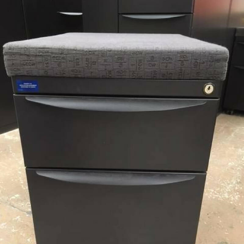 Rolling File Cabinet with Seat greencleandesignscom
