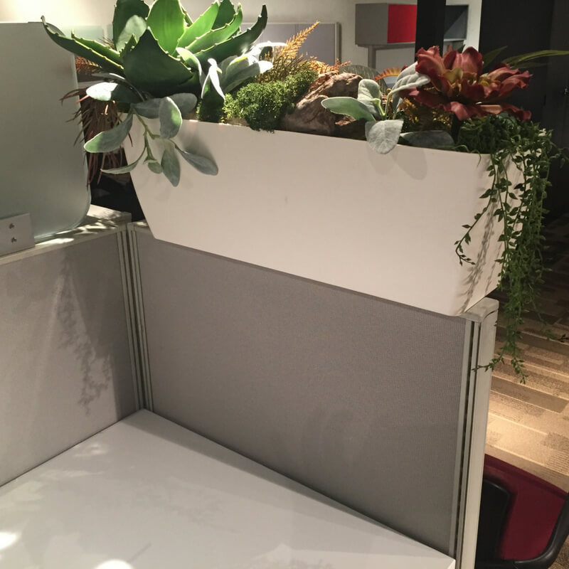 Cubicle Accessories greencleandesignscom Cubicle Planter