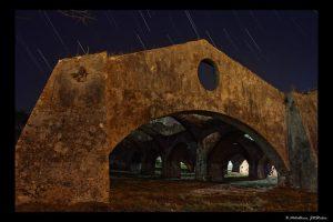 star-trails-ove-venetian-shipyards-gouvia2