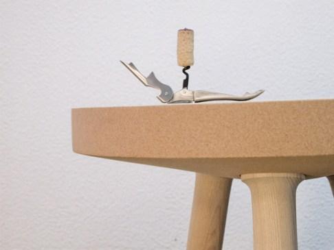Gonçalo Campos cork table 3