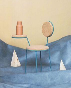 cadeira_mesa em cortiça