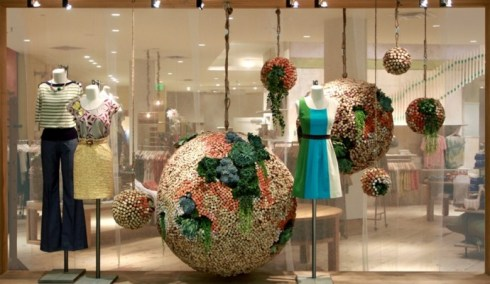 montra Anthropologie's Earth Day Recycling Program