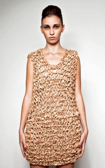 vestido cortiça_APC Cork