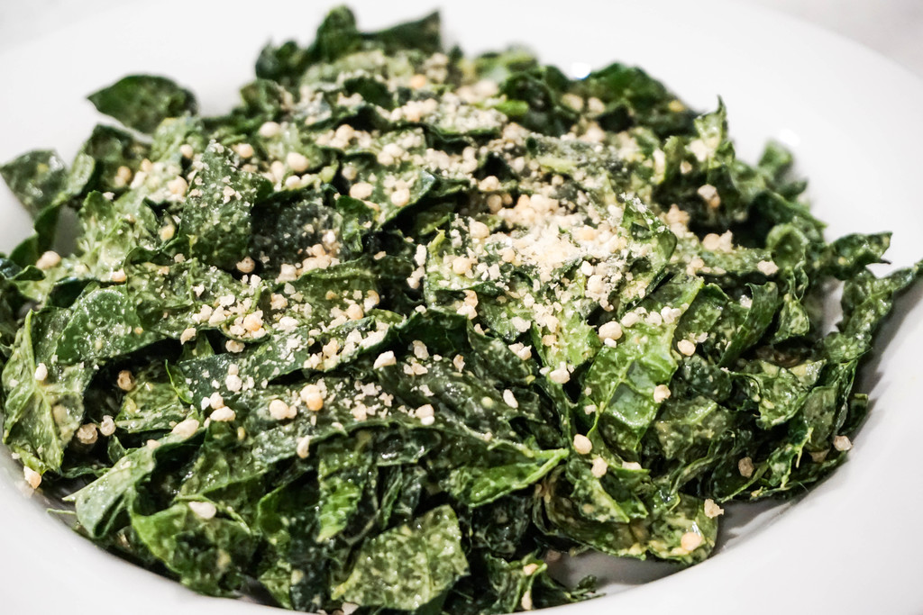 Garlic Kale Salad