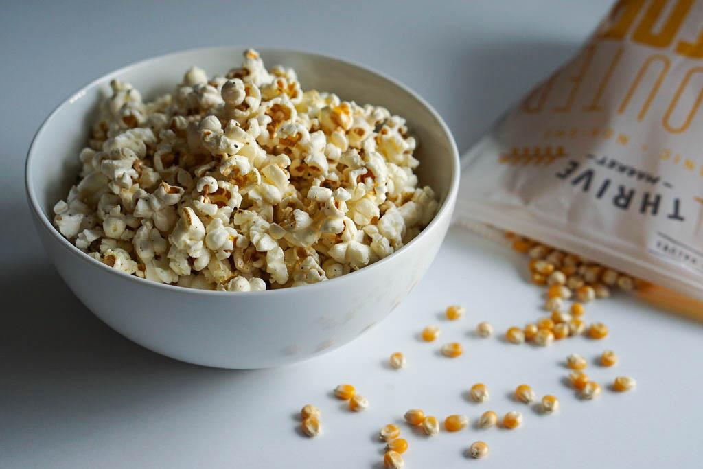 Cracked Pepper & Truffle Oil Popcorn