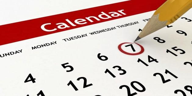 marijuana calendar