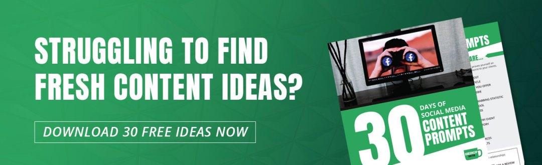 Fresh Content Ideas   GreenCup Digital Social Media Services