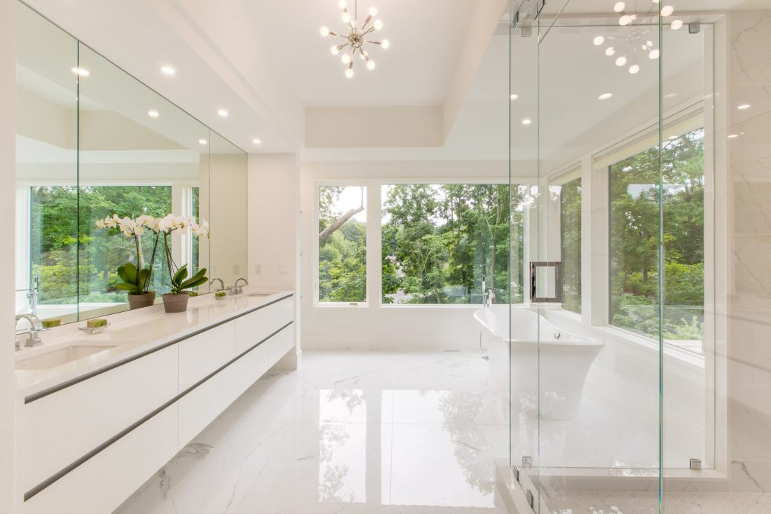 90 Grant - itchen, bathroom, and cabinet design by Lisa Green Design