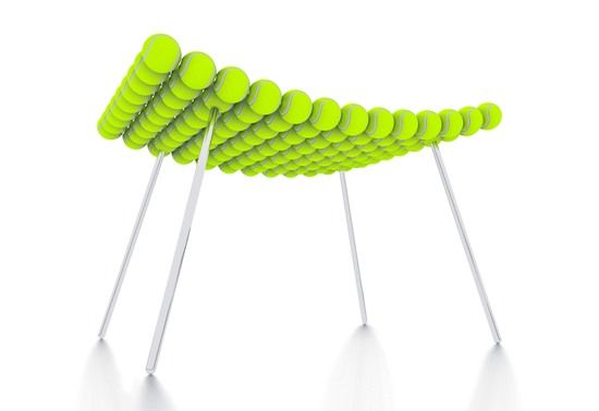 15 most amazing products made from recycled tennis balls