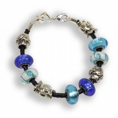 Balalabeads Deep Blue Sea Bracelet: