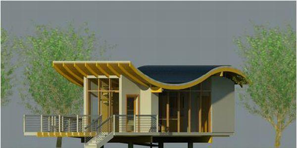 Bamboo house by Lamboo Studio