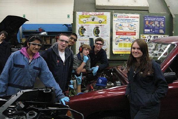 DIY drag racing EV