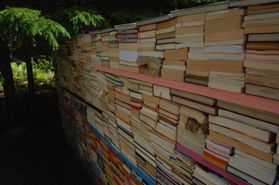 jardin de la connaissance book installation 2