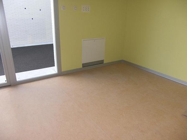Linoleum floors