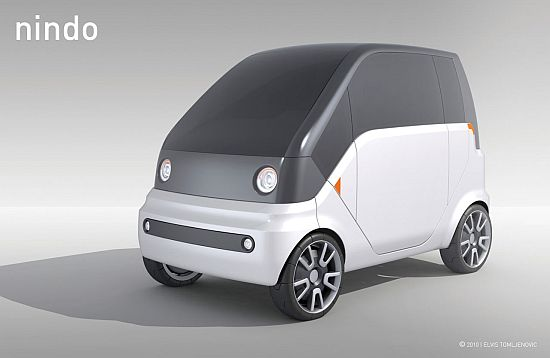 Nindo Concept Electric Microcar For Congested Urban Roads