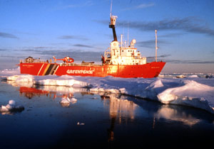 pollution in arctic