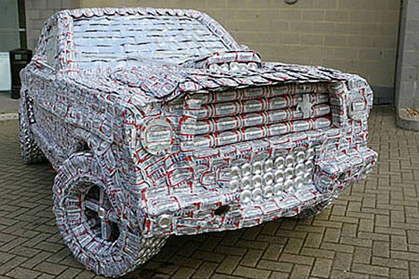 1965 Ford Mustang sculpture by Jack Kirby