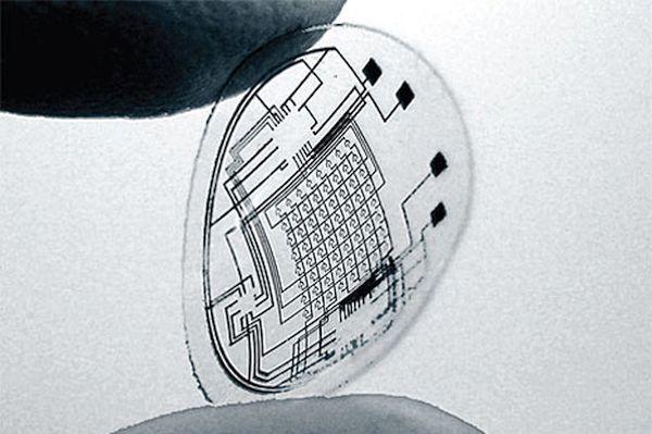 Bionic LED Contact Lens