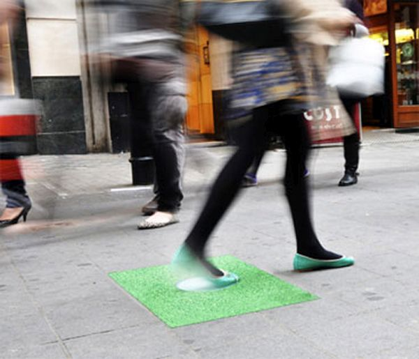 Kinetic Energy from footsteps