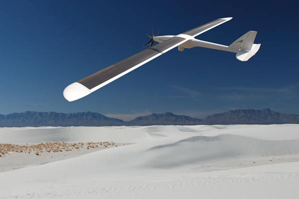 Green Falcon - Solar Powered UAV