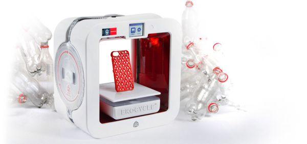 The EkocycleTM Cube 3D Printer
