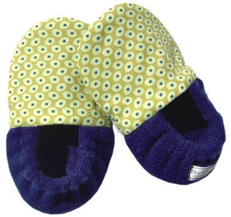 DIY warm slippers