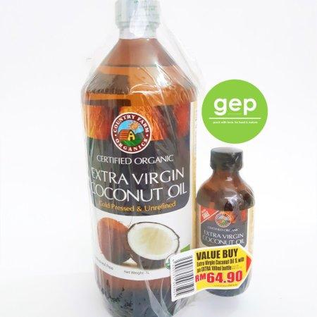 1000ml coconut oil