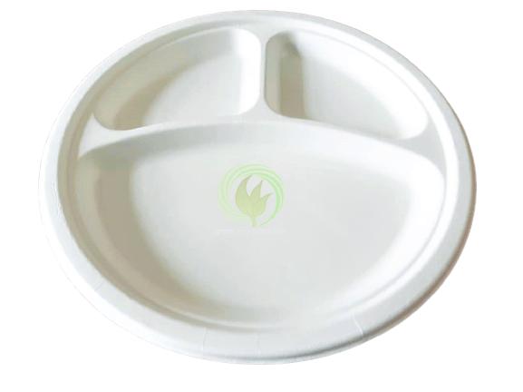 Biodegradable Plate white