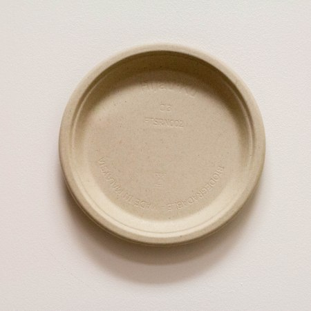 Biodegradable Plate (Beige)