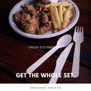 Wooden cutlery Malaysia