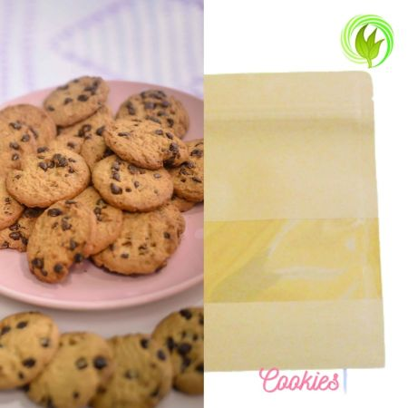 Serve cookies and biscuits in the paper bag